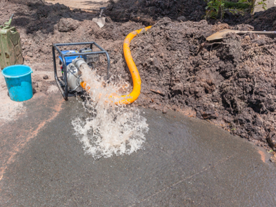 Water Extraction Machine Used To Remove Water From Your Property