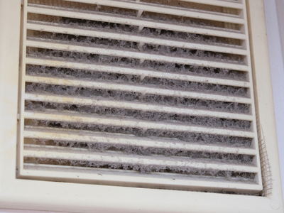 Extremely dirty residential air duct
