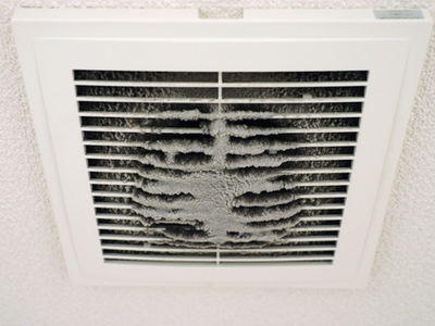 Dirty residential air duct